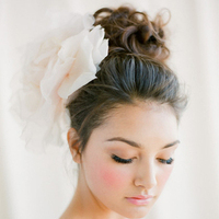 Romantic Messy Bun Updo