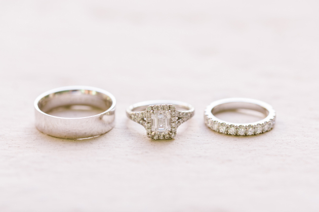 Classic Glam Wedding Rings