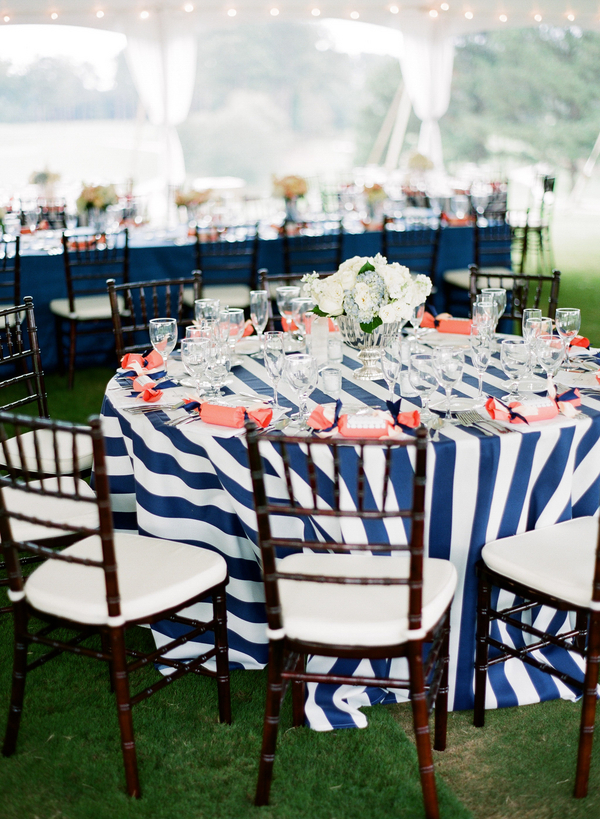 Nautical Reception Decor