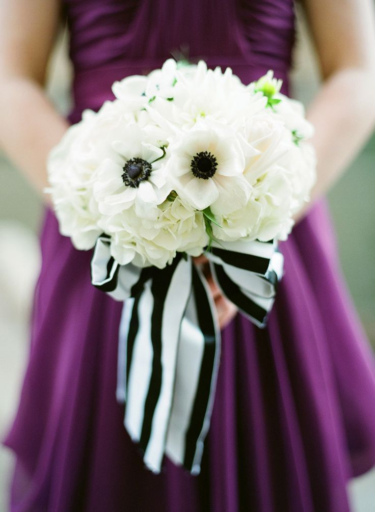 Striped Bouquet Detail
