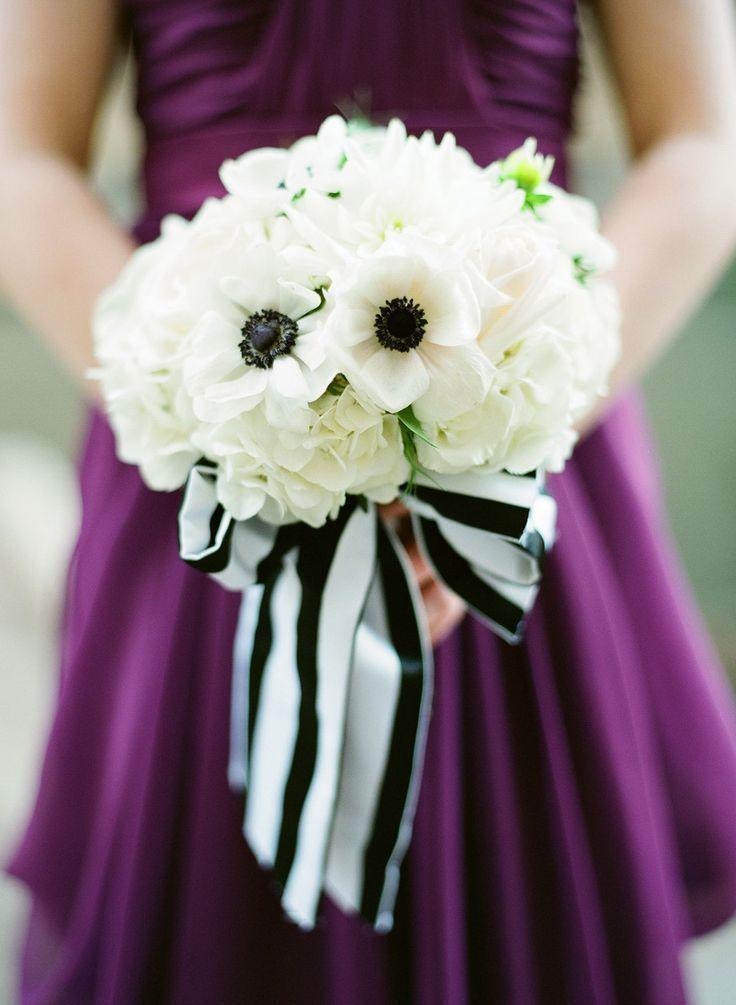 Striped Bouquet Detail