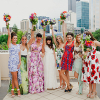 More Unique Bridesmaids Dresses We Love