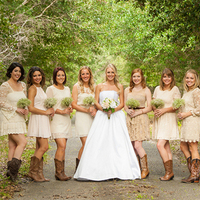 10 Southern-Inspired Wedding Party Looks