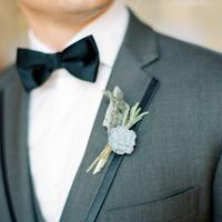 Classic Black Bow Tie