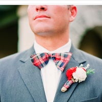 American  Plaid Bow Tie