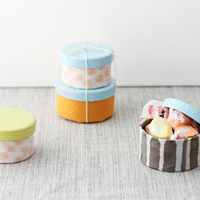 DIY: Fabric Covered Favor Boxes