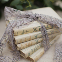 Romantic Book Wedding Decor
