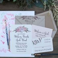 Cute and Fun Spring Floral Invites