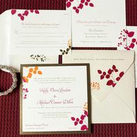 Spring Nature Lover Wedding Invitation