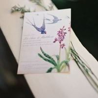Spring Nature Watercolor Invite