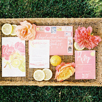 Lemonade-Inspired Colorful Invite