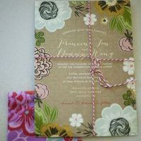 Nature-Inspired Spring Wedding Invite