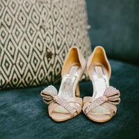 Champagne High Heels