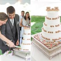 9 Totally Unique Wedding Cake Details