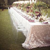 Elegant Garden Tablescape