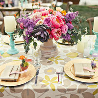 Summer Garden Tablescape