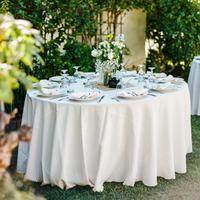 Crisp White Tablescape