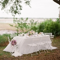 All White Tablescape