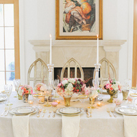 Classic Wedding Tablescape