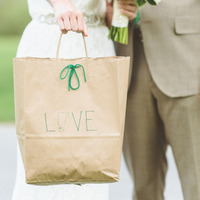 Green Welcome Bag