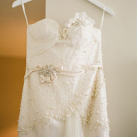 Embellished Sweetheart Wedding Dress