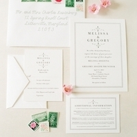 Classic Romantic Wedding Invitations