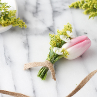 DIY: Spring Boutonniere