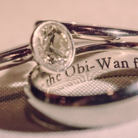 Rings With Wording