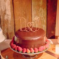 Monogrammed Cake Topper