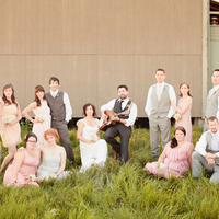 Serenaded Bridal Party