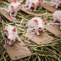 Pig Escort Cards