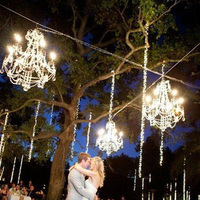 Outdoor Hanging Chandeliers