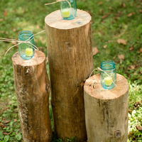 Rustic Tree Ceremony Decor