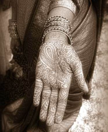 Intricate Henna Art