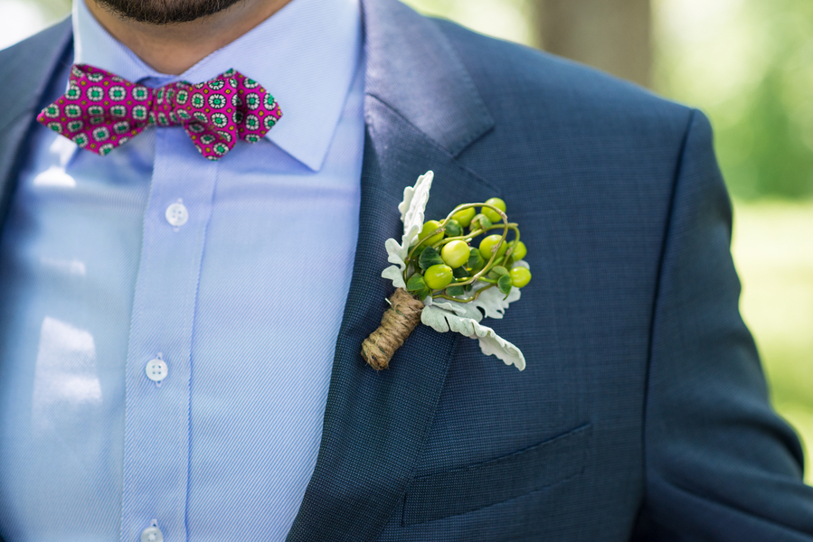 Berry Boutonniere