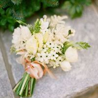 Astilbe and Stephanotis Bouquet