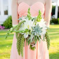 Dahlia and Millet Bouquet