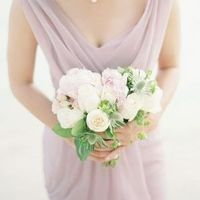 Peony, Rose and Thistle Bouquet