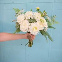 Ivory Dahlia Bouquet