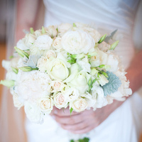 White and Pastel Bouquet