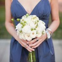 Green Berry Bridesmaid Bouquet