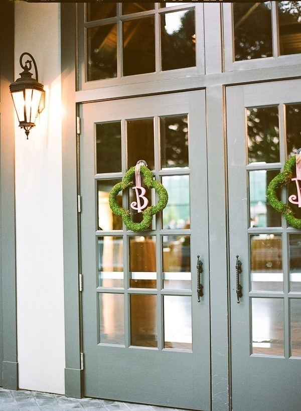 Moss & Monogram Decor