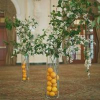 Lemon Filled Vases