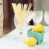 Lemon Beverage Station Decor