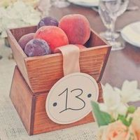 Peach Centerpiece