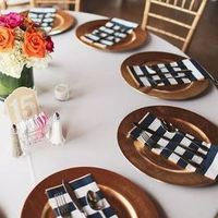 Striped Place Settings