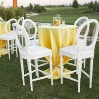 Modern Yellow Cocktail Reception