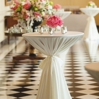 Classic White Cocktail Table
