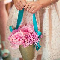 Pink Flower Girl Flowers