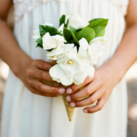 Flower Girl Cone Bouquet